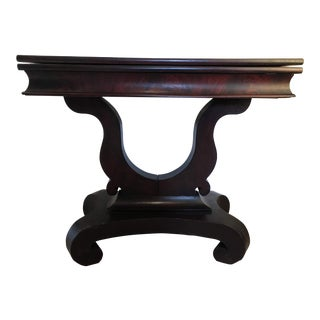 19th Century Empire Card Table For Sale