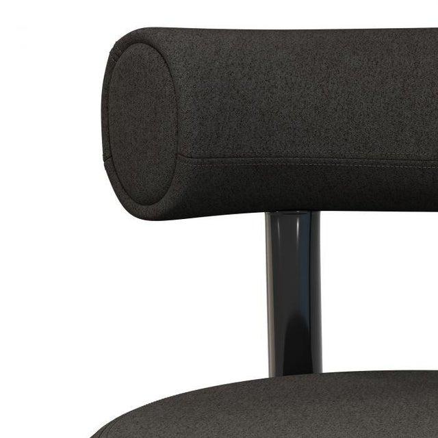 2010s Tom Dixon Fat Lounge Chair Mollie Melton Black For Sale - Image 5 of 9