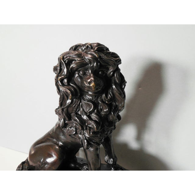 Bronze French Poodle Sculpture - Image 6 of 8