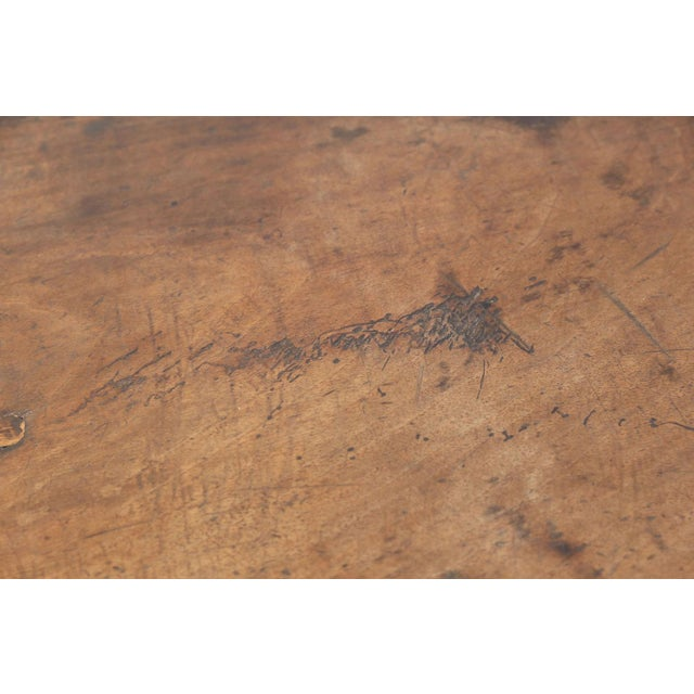 Early French Walnut Table For Sale In Houston - Image 6 of 13