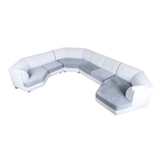 Milo Baughman for Thayer Coggin Four-Piece Modern Sectional Sofa For Sale