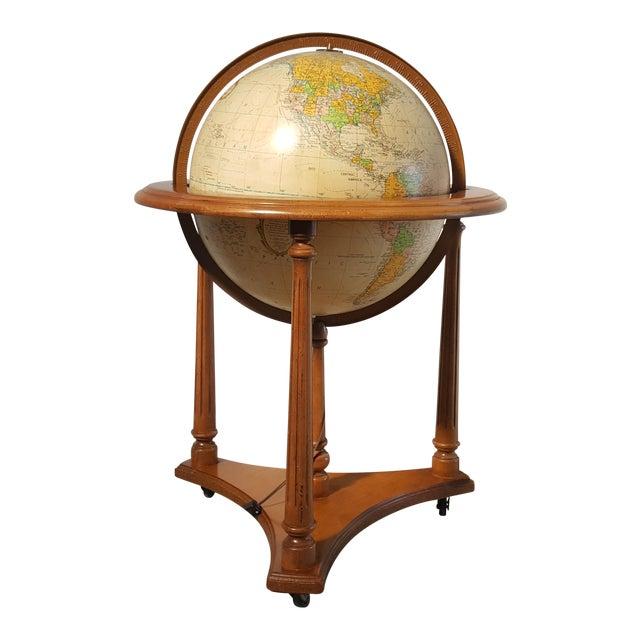 Replogle Vintage Illuminated Heirloom Globe For Sale