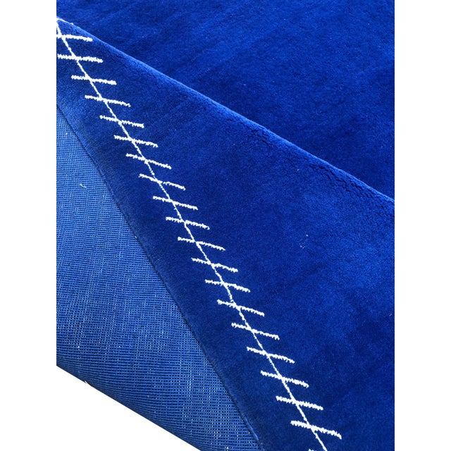 Boccara Limited Edition Artistic Rug Homage to Yves Klein For Sale - Image 4 of 7