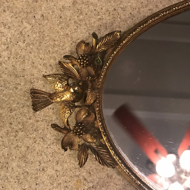 Ormolu Gold Mirrored Vanity Tray - Image 4 of 11