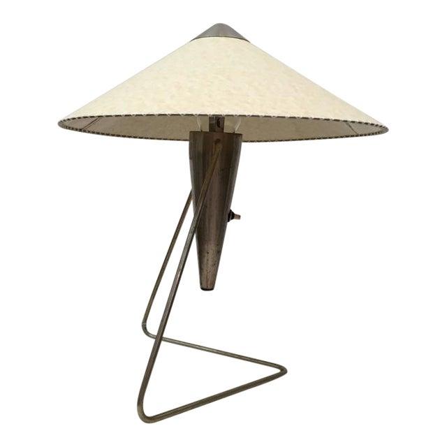 Czech Modernist Table Lamp by Helena Frantova for Okolo, 1950s For Sale