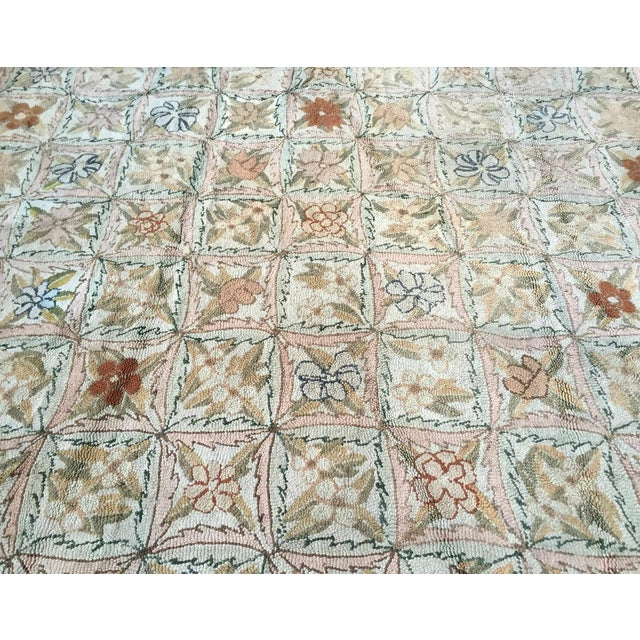 Treasure Chest Mutual Hand-Hooked Rug - 9' x 12' For Sale - Image 4 of 11