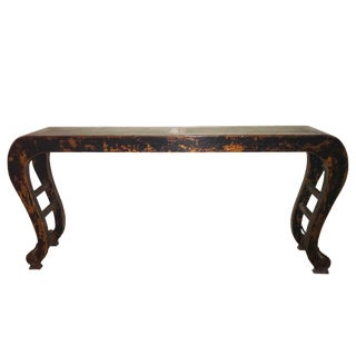 1920s l Chinese Calligraphy Altar Table For Sale