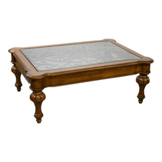 Ethan Allen Devereaux Tuscan Style Coffee Table