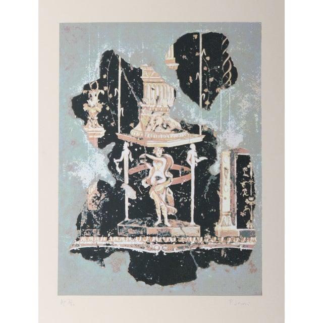 Peter Saari Lithograph - Hellenistic Figure - Image 1 of 2