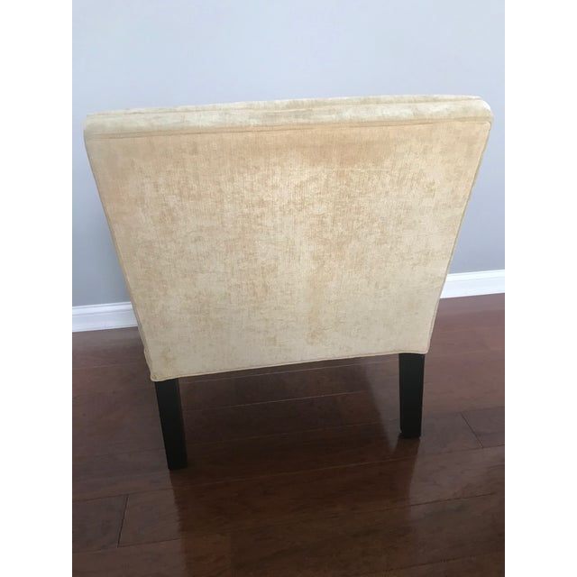 Mitchell Gold + Bob Williams Modern Mitchell Gold + Bob Williams Slipper Armless Accent Chair For Sale - Image 4 of 7