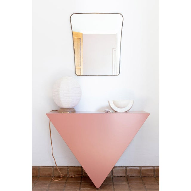 Contemporary Single Triangle Console by Cuff Studio For Sale - Image 4 of 5