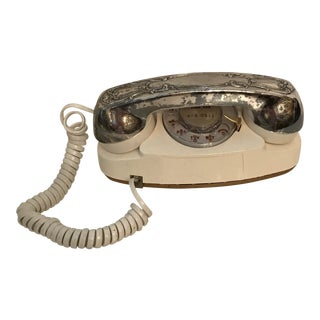 1980s Mid-Century Modern Princess Telephone For Sale