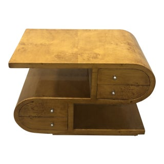 20th Century Art Deco Double Sided Accent Table