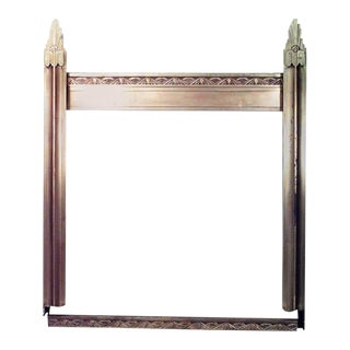 Art Deco Bronze Storefront Archway For Sale