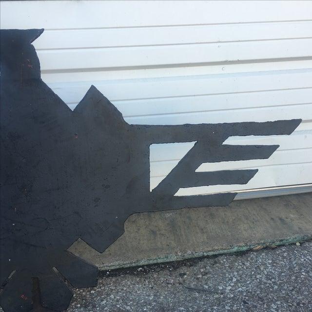 Metal Firebird Sign - Image 8 of 11