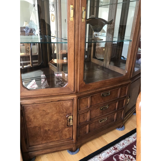 Thomasville Thomasville Mystique Dining Room China Cabinet For Sale - Image 4 of 11
