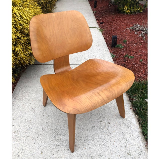 Wood Eames 5-2-5 Lcw 1950's Herman Miller Chair For Sale - Image 7 of 7