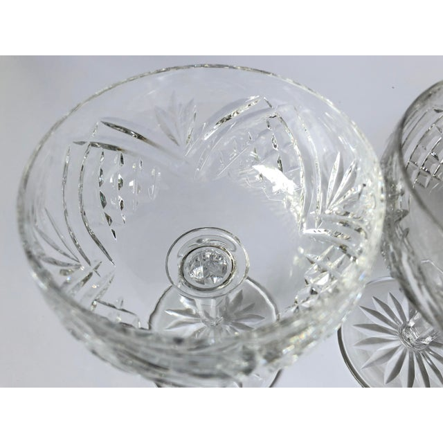 Waterford Waterford Lismore Essence Champagne Saucers - a Pair For Sale - Image 4 of 7
