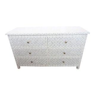 Restoration Hardware Teen Salma Mosaic Inlay 6 Drawer Dresser