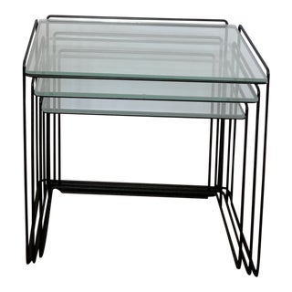"Max Sauze ""Isocele"" Nesting Tables - Set of 3"