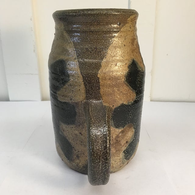 Vintage Hand Crafted Ceramic Pitcher - Image 5 of 8