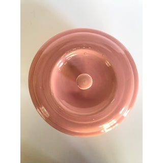 Mid 20th CenturyPink Sevilla Usa Pottery Bowl With Lid Preview