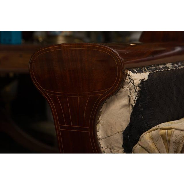 Brown 19th Century Mahogany Biedermeirer Sofa For Sale - Image 8 of 10