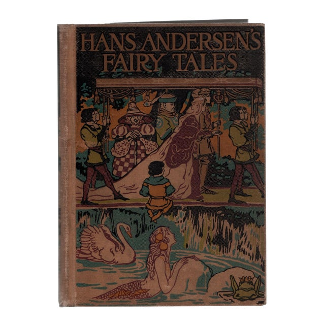 """1923 """"Hans Andersen's Fairy Tales"""" Collectible Book For Sale"""