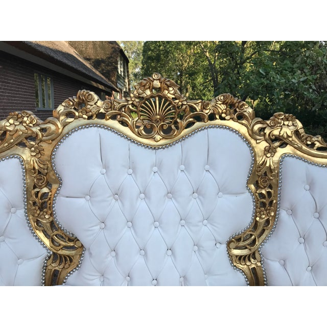 1940's Italian Rococo Living Room Set- 3 Pieces For Sale - Image 9 of 12