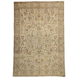 20th Century Persian Tabriz Rug - 11′1″ × 16′2″ For Sale