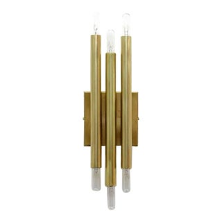 Gallery L7 Brass Wall Lights 'Trina' For Sale
