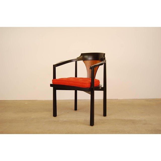 Mid-Century Modern Dunbar Horseshoe Chair Designed by Edward Wormley For Sale - Image 3 of 8