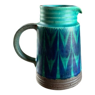 Danish Mid Century Pitcher by Tomas Toft For Sale