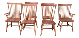 Image of Rustic Windsor Chairs