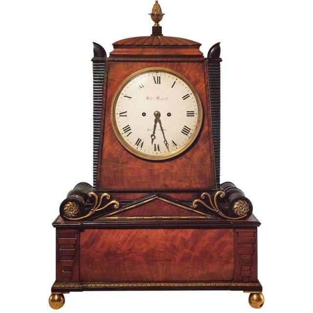 Regency Period Musical Clock Attributed to Bullock For Sale