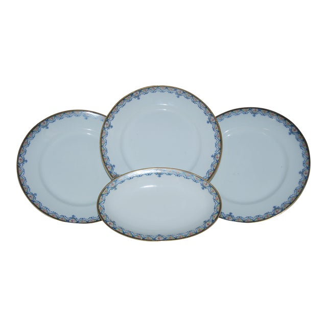 Haviland China Plates - Set of 4 - Image 1 of 6
