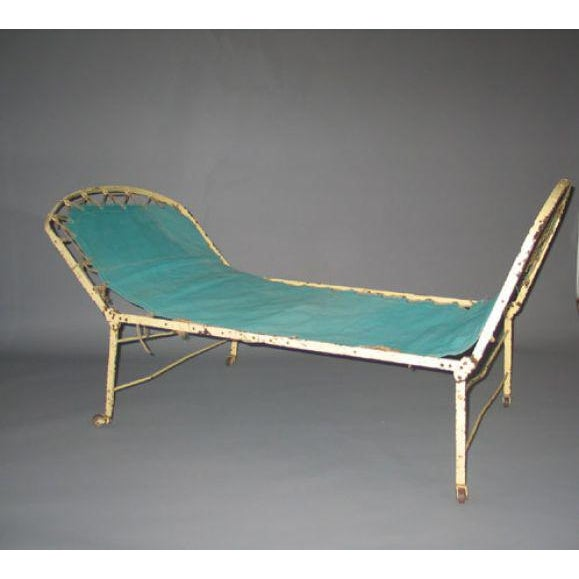 High-End French Early Modern Style Fully Adjustable Campaign Daybed on modern futon, modern chest, modern country, modern sideboard, modern curtains, modern cabinet, modern headboards, modern yellow chaise, modern beds, modern bookcase, modern outdoor chaise, modern kitchen, modern desk, modern mattress, modern hammock, modern stools, modern clocks, modern dresser, modern rugs, modern chaise lounge,