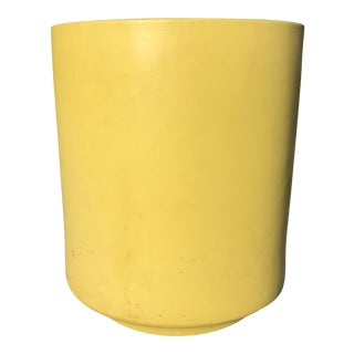 1950s Vintage Gainey Yellow Pot For Sale