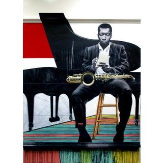 """John Coltrane"" by Tim Townsley (1944 - 2018) For Sale"