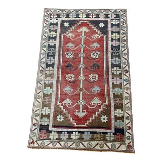 1960s Turkish Oushak For Sale