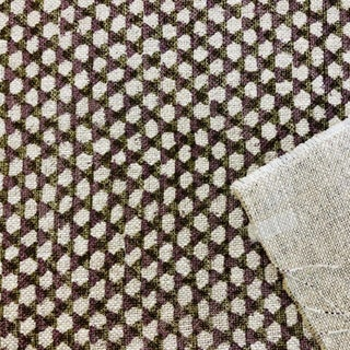 Boho Chic Fermoie Wicker Linen Designer Fabric by the Yard Preview