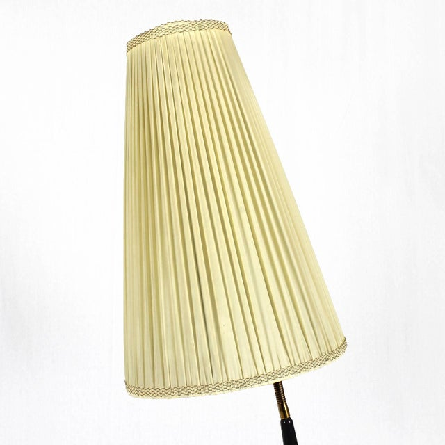 1940s 1940´s Floor Lamp by Giuseppe Ostuni, stained mahogany, brass - Italy For Sale - Image 5 of 11