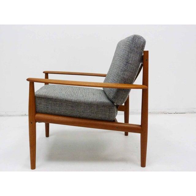 Danish Modern Danish Modern Grete Jalk Teak Lounge Chair For Sale - Image 3 of 10