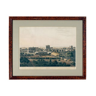 1809 Henry SaltView of Calcutta Engraved Print