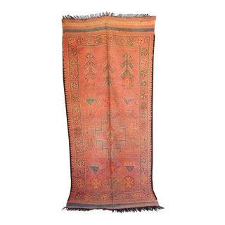 Moroccan Vintage Berber Tribal Rug For Sale