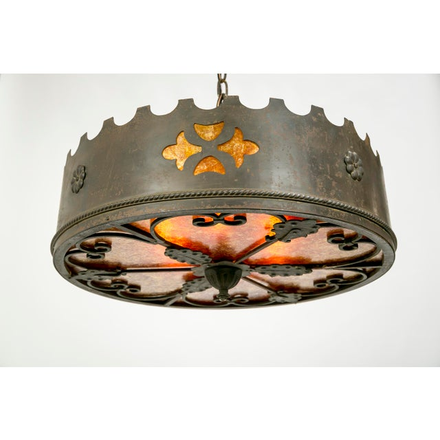 Mica Medieval Revival Chandelier - Image 11 of 11
