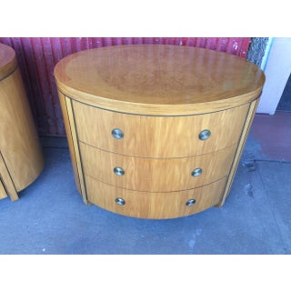 1980s Regency Charles Pfister for Baker Furniture Bleached Mahogany Prima Vera Commodes - a Pair Preview