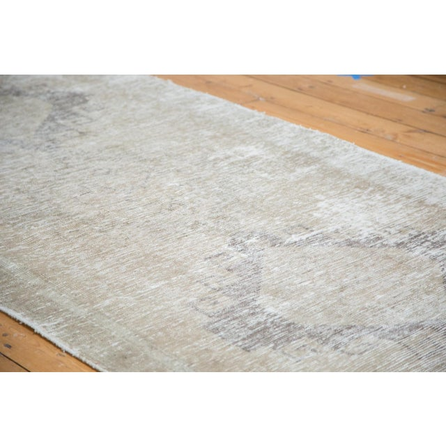 "Distressed Oushak Runner - 4'4"" X 12'9"" - Image 3 of 9"