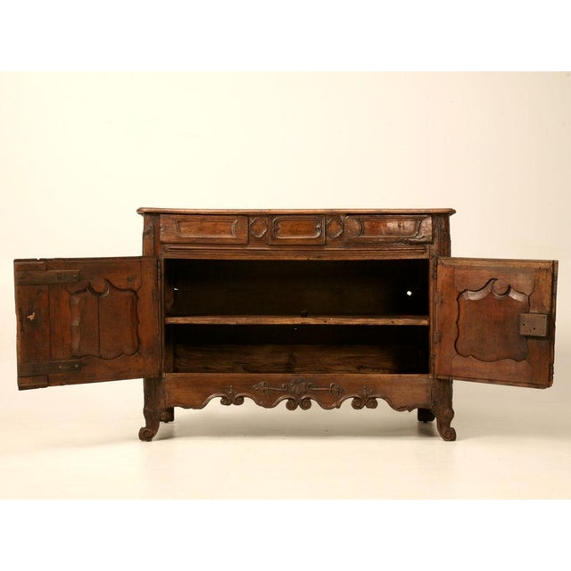 Early 18th C. French Louis XV Buffet For Sale - Image 11 of 11