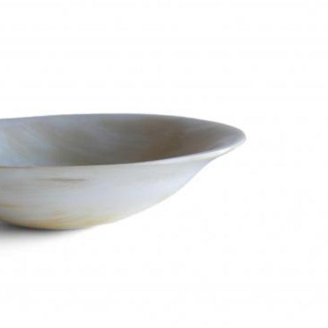 Rimmed horn bowl 2.00 X 6.00 in $31.25